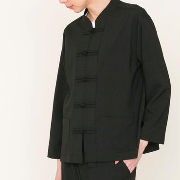予約終了▶thomas magpie china jacket black