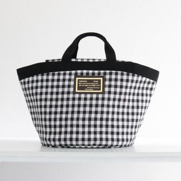 完売【2018 SS】marche mini gingham black