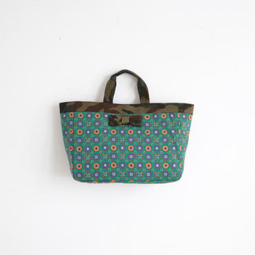 【tokyo limited】town mini tote mosaico green