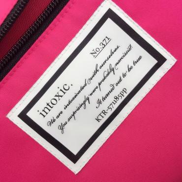 【完売】college bag cordura toxic pink
