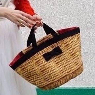 marche mini fake basket black