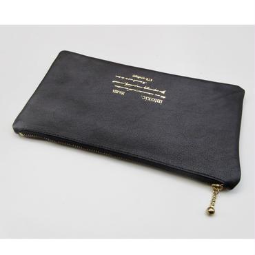 leather billfold black