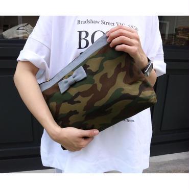 clutch bag  comoflage  blue grey