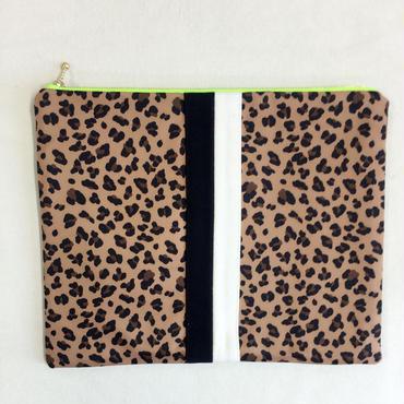 urban mini clutch leopard dark