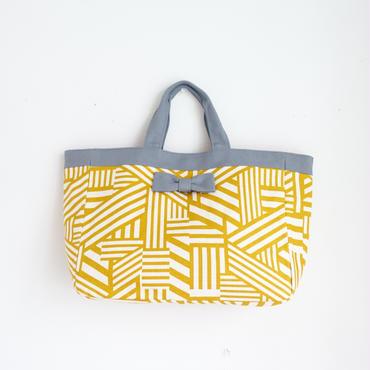 town mini geometric yellow