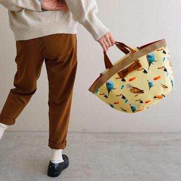 【original textile】marche mini chemicalbirds yellow