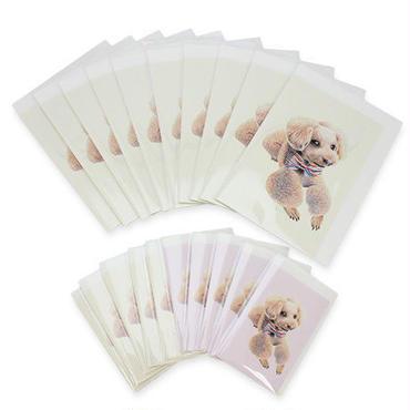 愛犬ステーショナリーC(メッセージカード3000円セット)(※追加オーダーのみ)