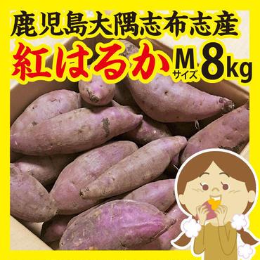 鹿児島大隅志布志産【紅はるか】Mサイズ8kg