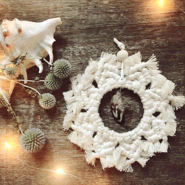Bohemin  wreath ornament  2