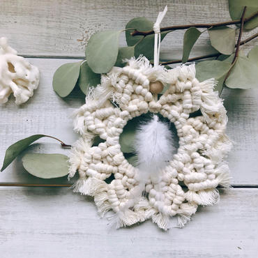 Bohemin  wreath ornament  3