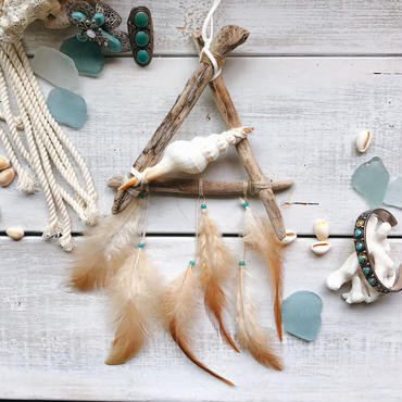 ↞Mini ↠Bohemian  dreamcatcher♯36