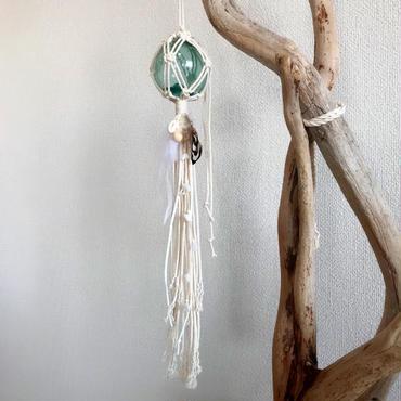 Glass float ornament  8㎝