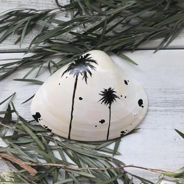 Shell art  Palm tree