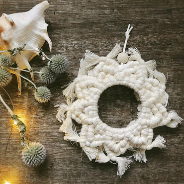 Bohemin  wreath ornament  1