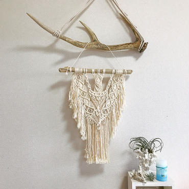 Makurame wall hanging ♯43