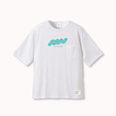 "DOVE OVERSIZE POCKET-Tee ""MINT"""