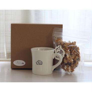 ギフトセット(マグカップとショコラor塩キャラメルor抹茶orきなこ)