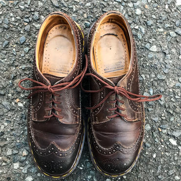 Dr.Martens brown made in England