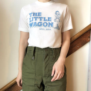 baseballロゴプリントTシャツ