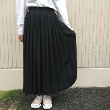 U.S.A製ブラック プリーツスカート