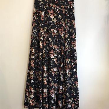 U.S.A製お花柄スカート