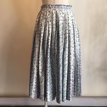 vintage 1950年代デッドストック お花柄スカート
