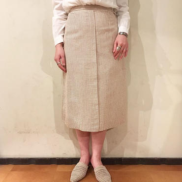 60's vintage   ストライプ柄スカート