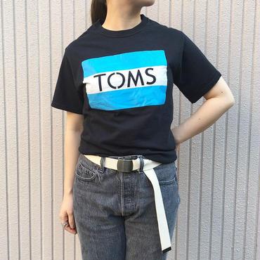 ブラック ロゴプリントTシャツ