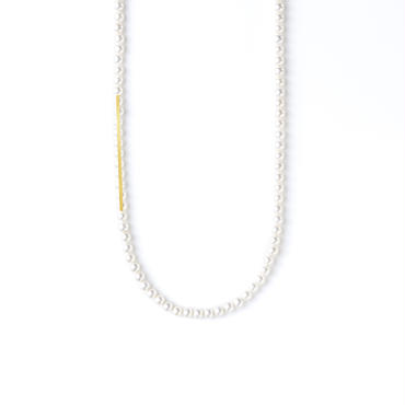 ATTACHMENT NECKLACE WITH PARTS BAR