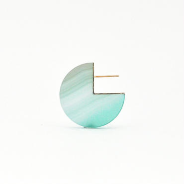 SLICE PAC EARRING メノウ02[片耳/一点もの]
