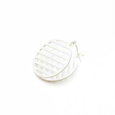 MESH CIRCLE L silver