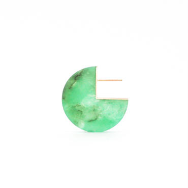 SLICE PAC EARRING クリソプレーズ02[片耳/一点もの]