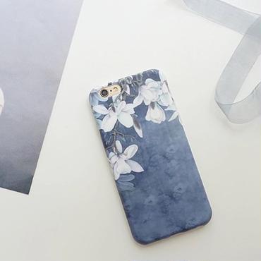 【オーダー商品】水彩フラワーケース i phone7,7plus,6,6s,6plus,6splus