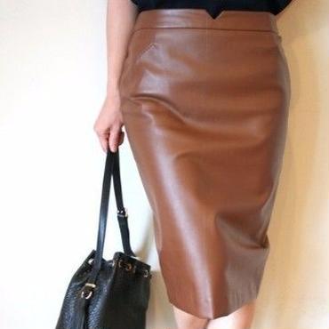 ジーンオリジナルPUタイトスカート