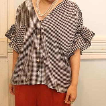 ラッピングフリルシャツ