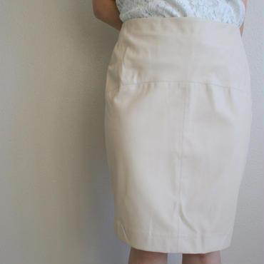 ジーンオリジナル PUレザーチューブスカート