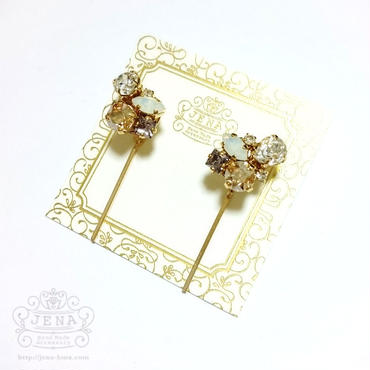Minimum bijou simple ber 【light gold】イヤリング/ピアス