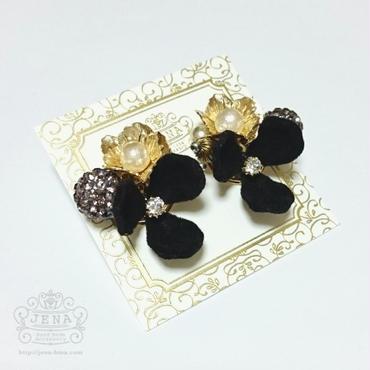 Velvet Flower series 【black】