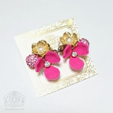Velvet Flower series 【pink】