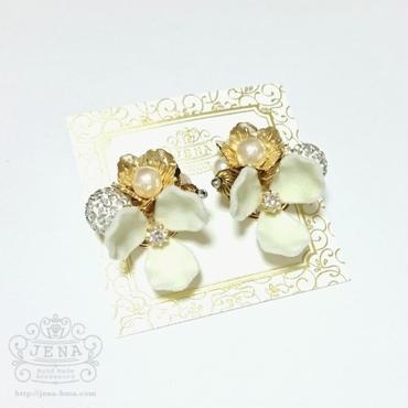 Velvet Flower series 【ivory】