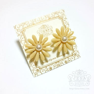 Marguerite Flower YELLOW-PEARL