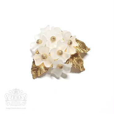 ポニーフック【White Hydrangea 】