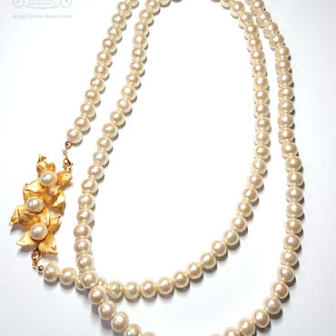 GALLE 4way Pearl necklace