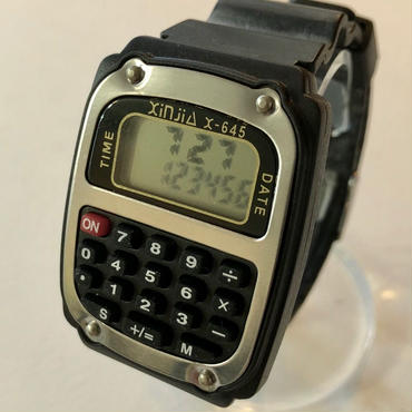 電卓ウォッチ X-645