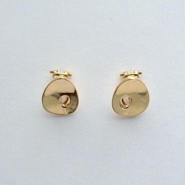 Earrings Ovalo 18KYG 02