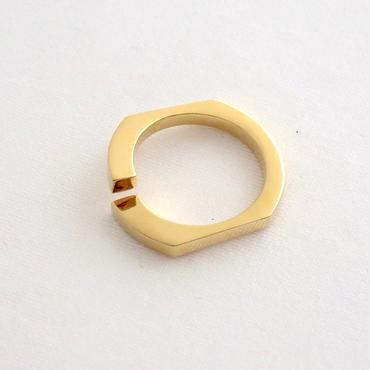 Ring Soleá 18KYG 02