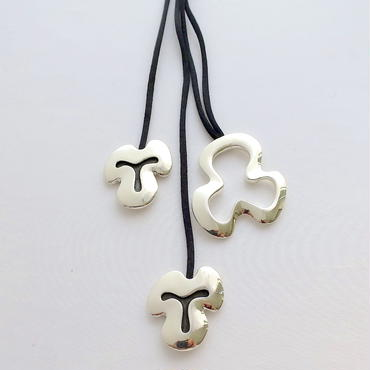 Necklace Poema Silver 01