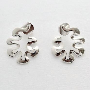 Earrings Poema Silver 03