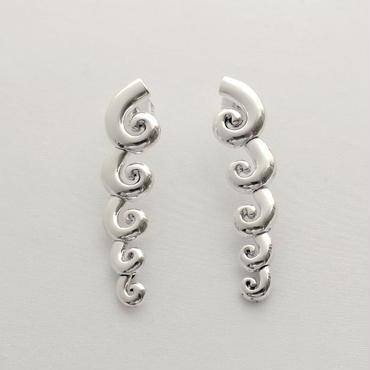 Earrings Clasica Silver 02
