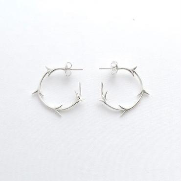Earrings Yedra Silver 01